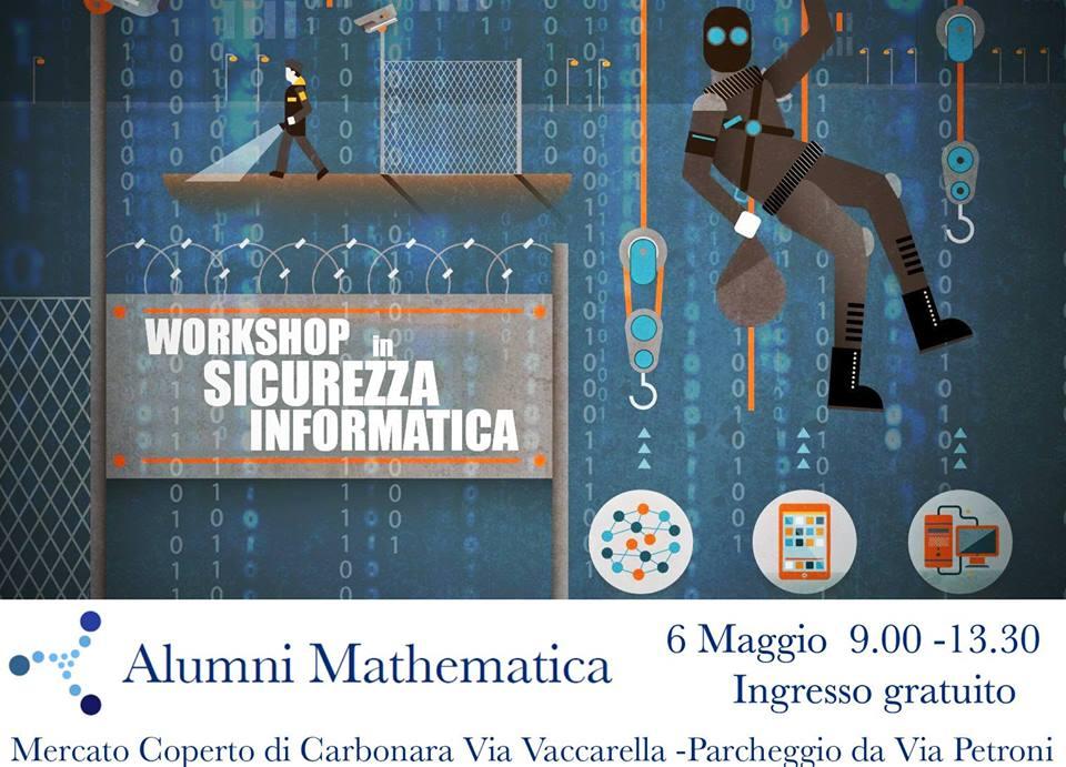 Locandina Workshop Sicurezza Informatica