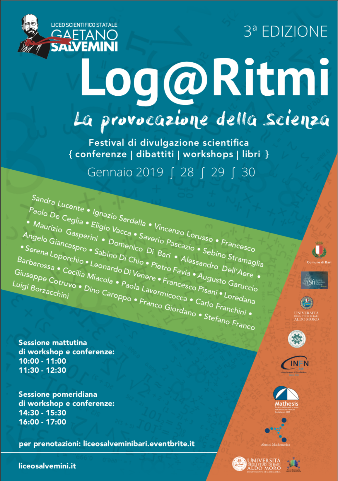 Alumni Mathematica al festival della scienza Log@Ritmi