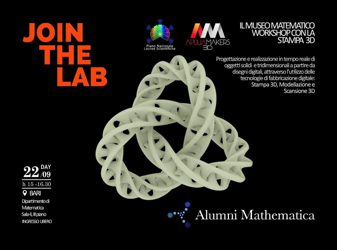 Museo della Matematica - STAMPA 3d