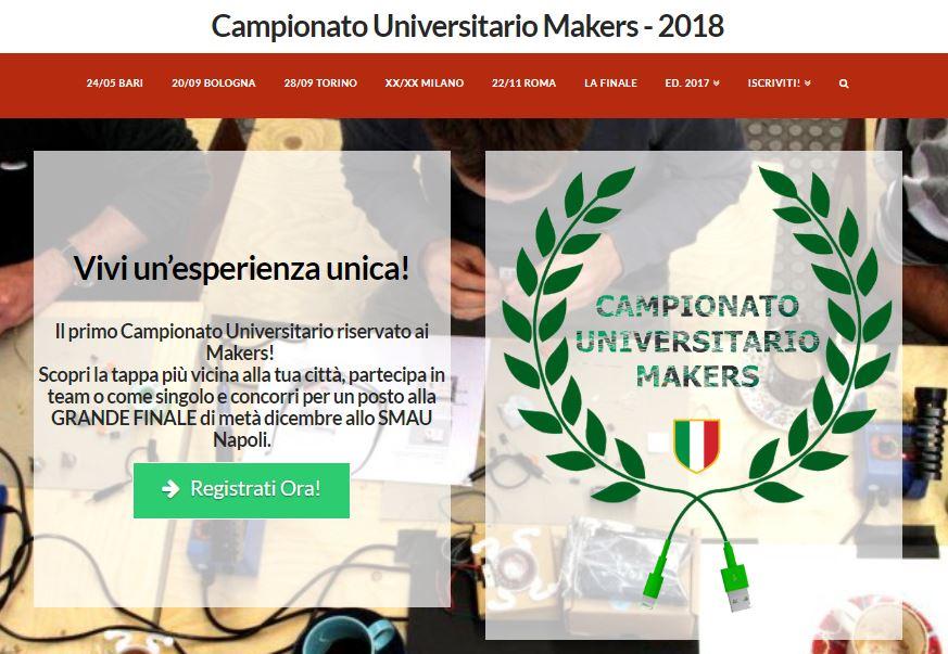 Campionato Universitario Makers