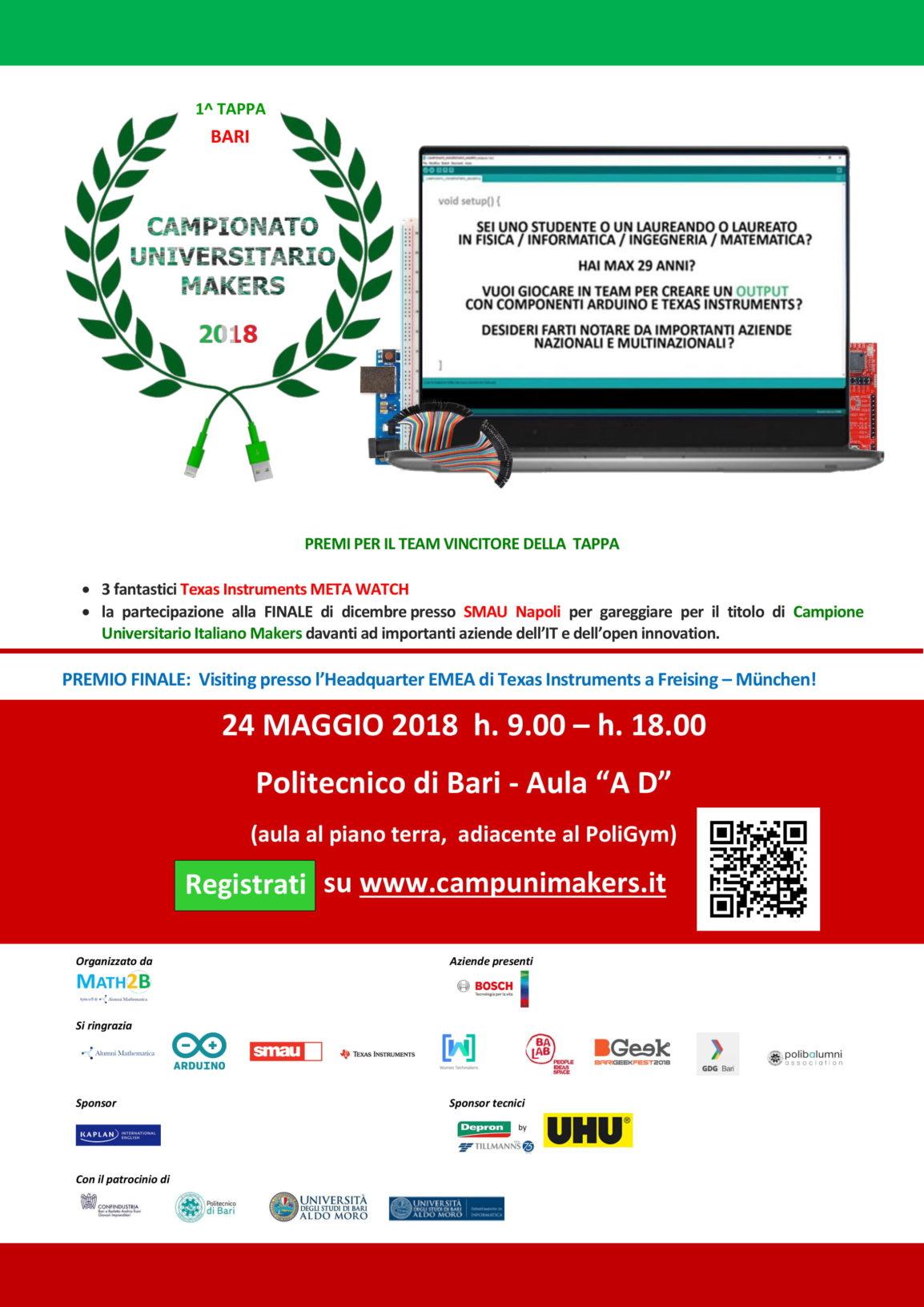 Campionato Universitario Makers Bari