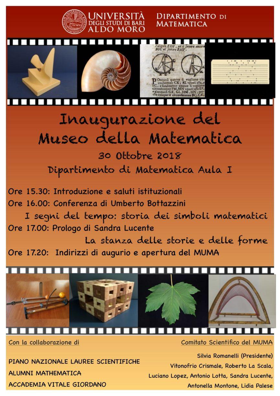 Inaugurazione Museo della Matematica